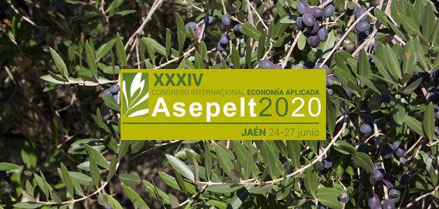 La economía del olivar centrará el XXXIV Congreso Internacional de Economía Aplicada
