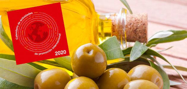 FIAB publica el calendario de actividades de promoción internacional para 2020