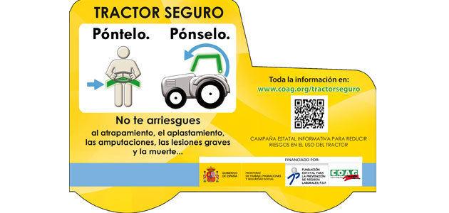 COAG lanza una campaña divulgativa para reducir los riesgos en el uso de vehículos agrícolas