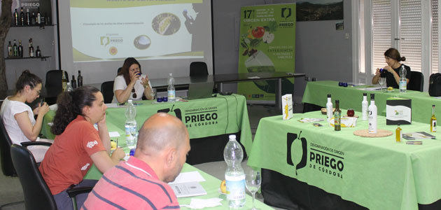 Nueva programación de cursos de cata de AOVE de la DOP Priego de Córdoba