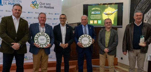 La Diputación de Huelva entrega sus galardones al mejor AOVE de la provincia