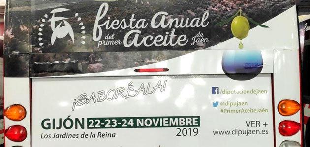 La provincia de Jaén traslada a Gijón del 22 al 24 de noviembre los primeros AOVEs de esta cosecha