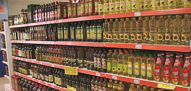 Cae la compra de aceites en los hogares en la semana previa a Semana Santa