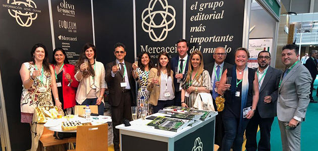 Grupo Editorial Mercacei celebra su 25º aniversario en Expoliva
