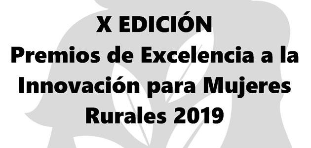 El MAPA convoca los Premios de Excelencia a la Innovación para Mujeres Rurales 2019