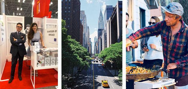 Showcookings con AOVE español por primera vez en la Summer Fancy Food de Nueva York