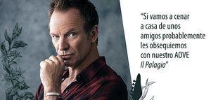 Entrevista en exclusiva con Sting, el rey del pop-rock y un fan confeso del AOVE