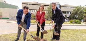 Vidrala implementa un proyecto de absorción de huella de carbono en su planta de Albacete